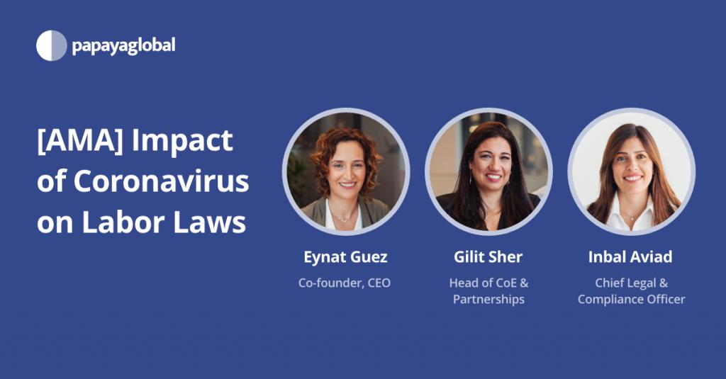 [AMA] Impact of Coronavirus on Labor Laws